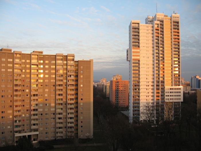 Gropiusstadt sunset
